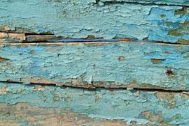 Afbladderende verf